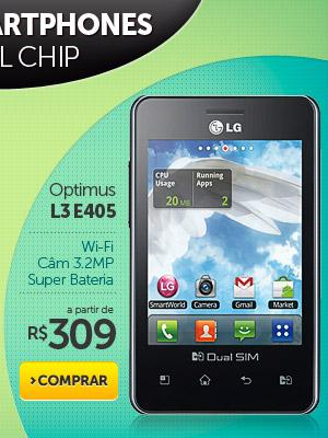 Optimus L3 E405 a partir de R$ 309