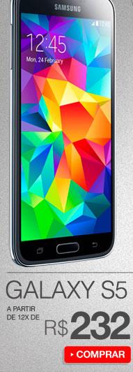 Samsung Galaxy S5  a partir de 12x de R$ 232
