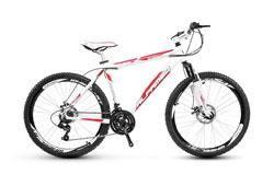 Bicicleta Aro 26 Alfameq, 21v, Kit Shimano, Disco