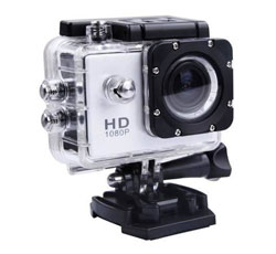 Mini Câmera Filmadora Sports Hd 1080p Aprov D'agua